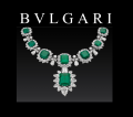 BVLGARI Necklace emeralds
